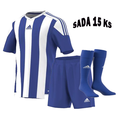 Sada 15 ks Dresů ADIDAS STRIPED 15