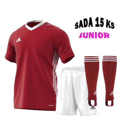 Sada 15 ks Dresů ADIDAS TIRO 17,JUNIOR