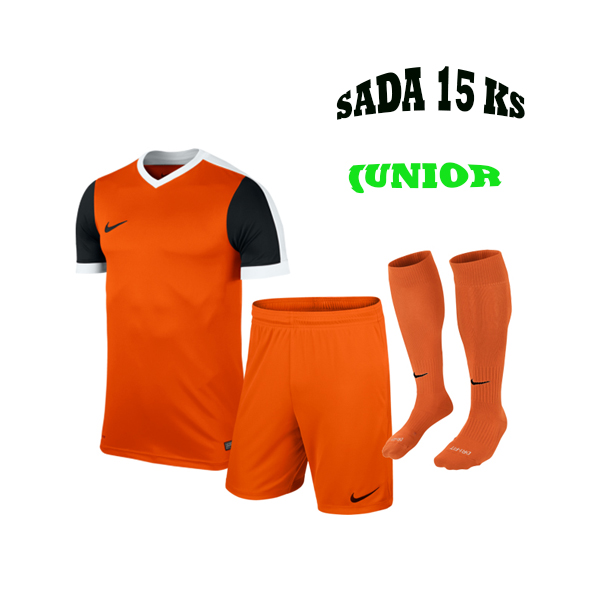 Sada dresů 15 KS, NIKE STRIKER IV,JUNIOR