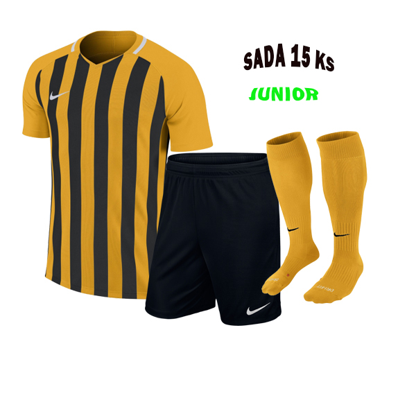 Sada dresů 15 KS, NIKE STRIPED DIVISION III,JUNIOR