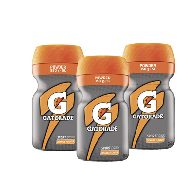 3 ks GATORADE POWDER ORANGE