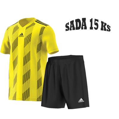 Sada 15-ti ks Dresů ADIDAS STRIPED 19