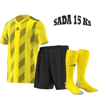 Sada 15 ks Dresů ADIDAS STRIPED 19