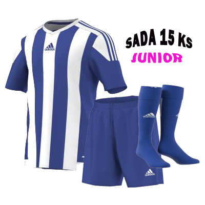 Sada 15 ks Dresů ADIDAS STRIPED 15, JUNIOR