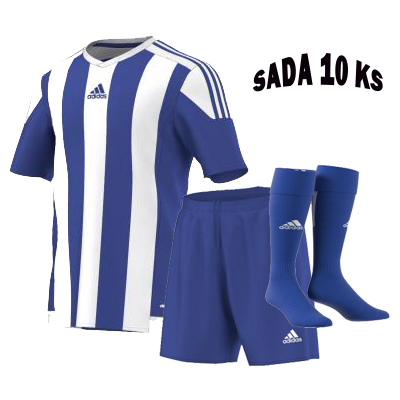 Sada 10 ks Dresů ADIDAS STRIPED 15