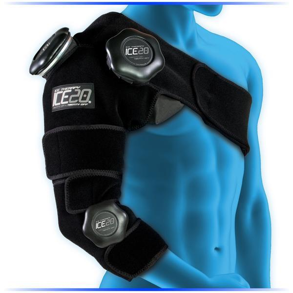 Kompresní ice bag rameno-loket,ICE 20 Combo Arm Ice Compression Wrap