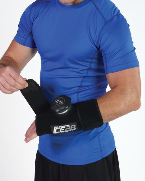 Kompresní ice bag malý jednoduchý,ICE20 Elbow-Small Knee Ice Compression Wrap